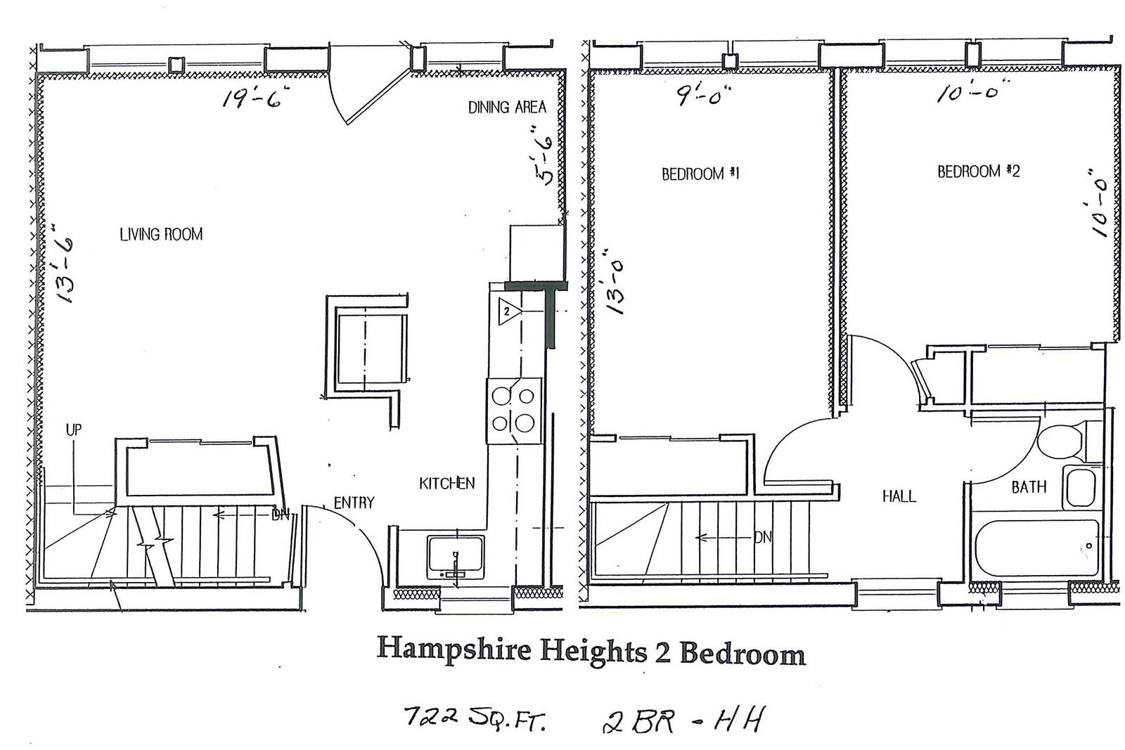 hampshire heights 2 br